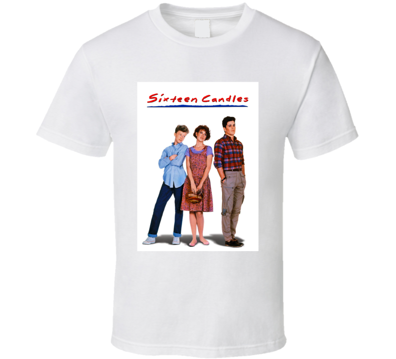 Sixteen Candles 80's Movie Poster Gift T Shirt
