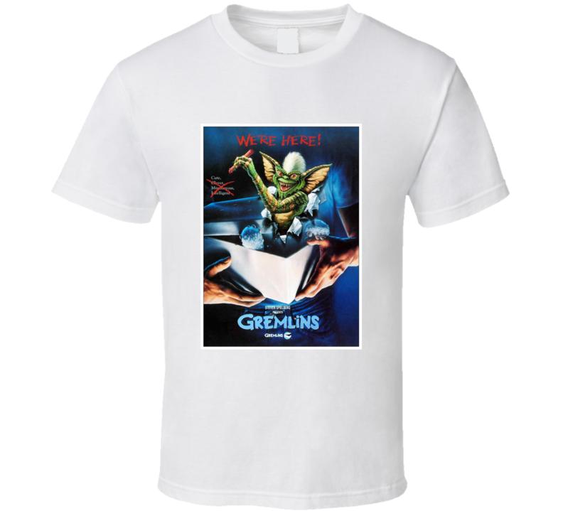 Gremlins 80's Movie Poster Gift T Shirt