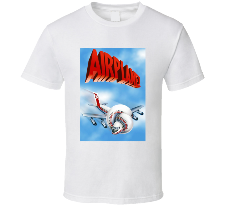 Airplane 80's Movie Poster Gift T Shirt