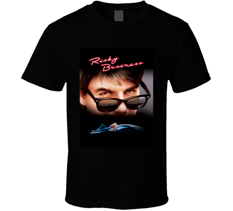 Risky Business 80's Movie Poster Gift T Shirt