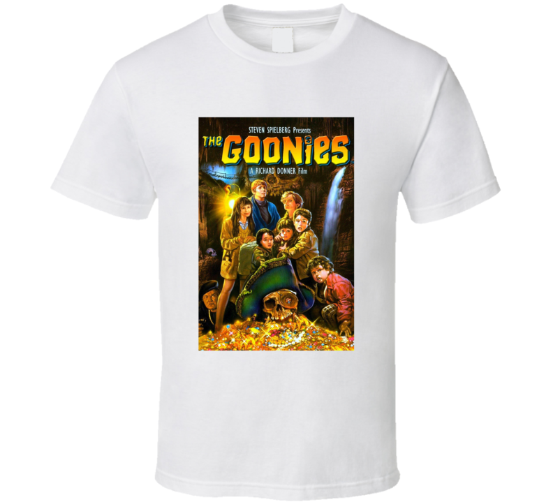The Goonies 80's Movie Poster Gift T Shirt