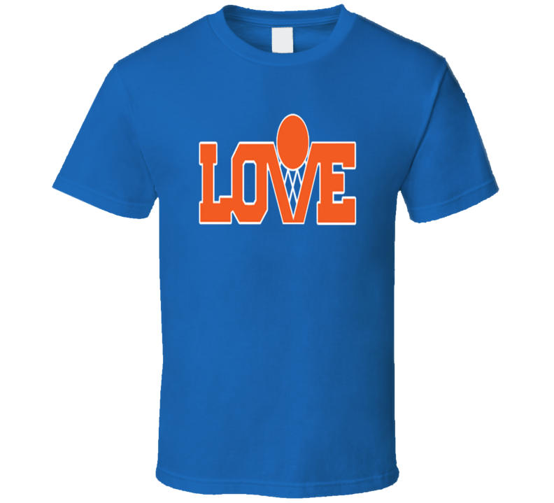 Kevin Love Retro Cleveleand Basketball T Shirt