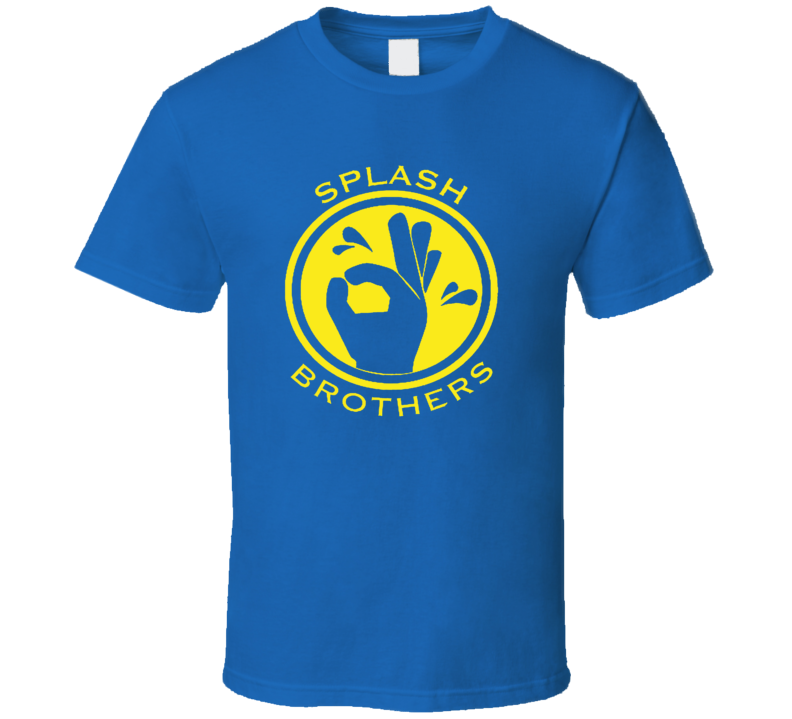 Curry Thompson Splash Brothers Golden State Basketball T Shirt