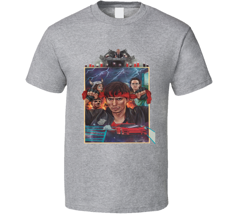 Kung Fury The Movie T Shirt