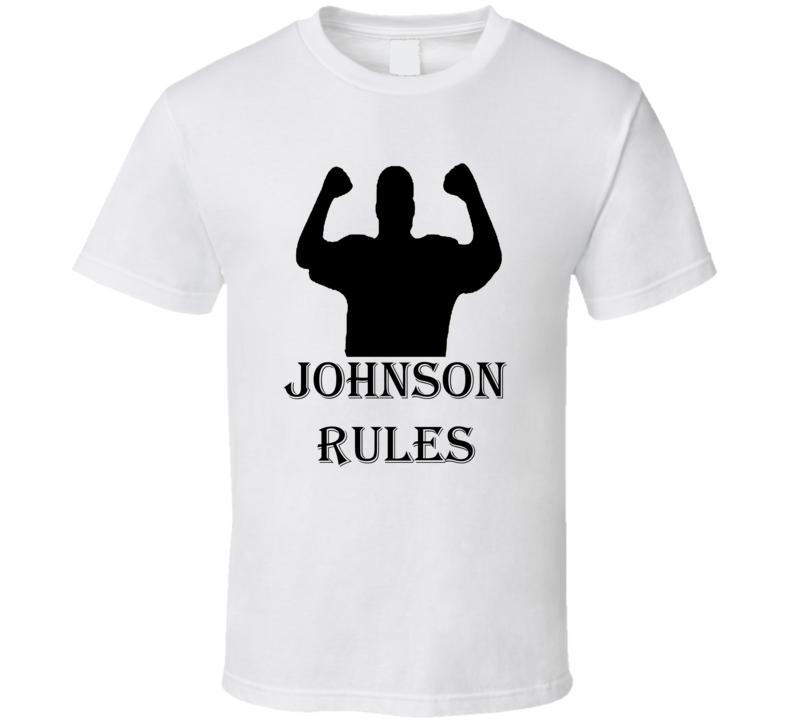 Johnson Rules Family Reunion Funny T Shirt