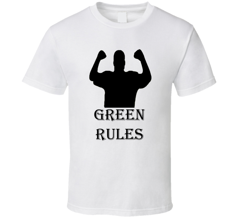 Green Rules Family Reunion Funny T Shirt