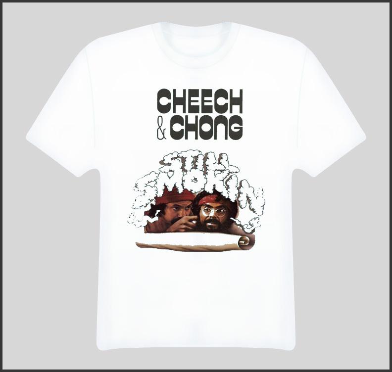 Cheech And Chong Still Smoking Movie T Shirt