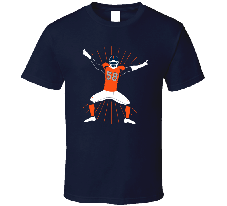 Von Miller Sack Dance Denver Football T Shirt