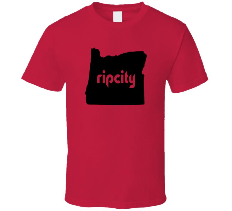 Portland Rip City Lillard Portland Basketball T Shirt