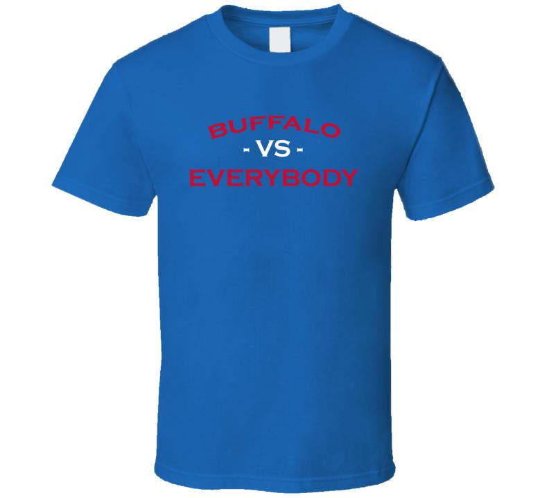 Buffalo Vs Everybody Buffalo United Football T Shirt