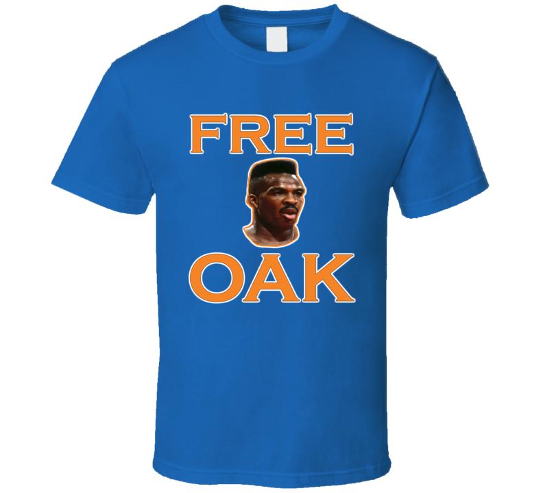 Charles Oakley Free Oak Free Oakley New York Basketball T Shirt