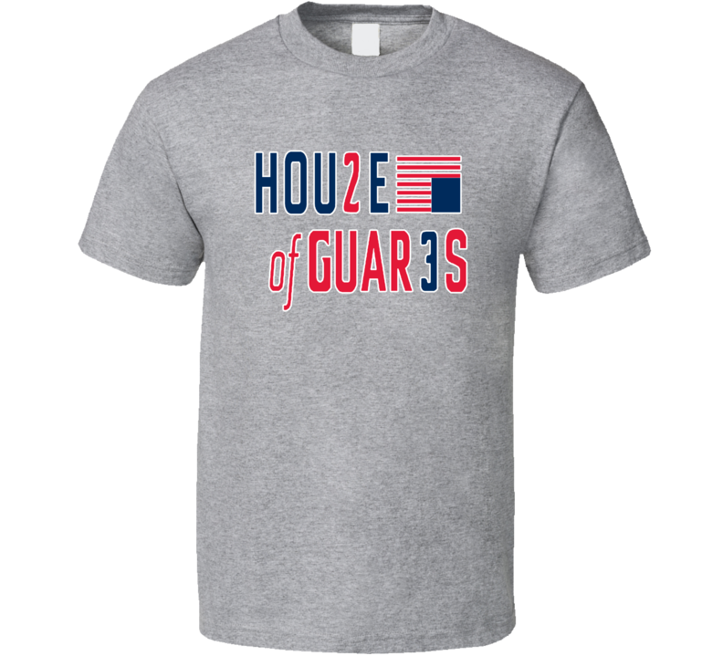 Beal Wall House Of Guards Back Court Washington Basketball T Shirt