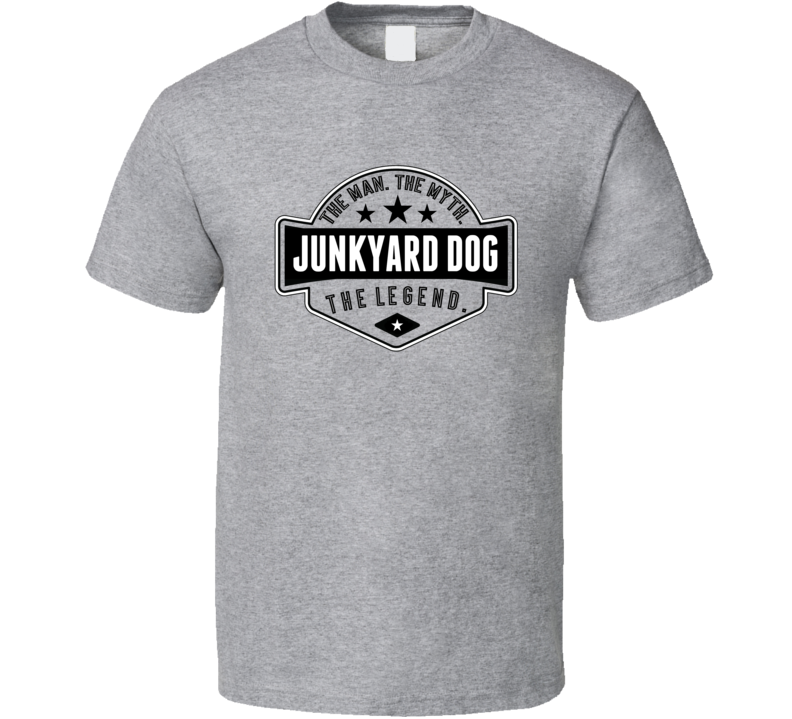 Junkyard Dog The Man The Myth The Legend Retro Wrestling T Shirt