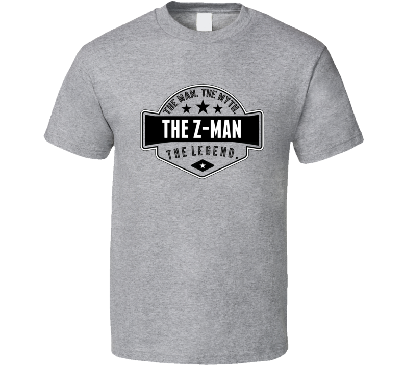 Tom Zenk The Z Man The Man The Myth The Legend Retro Wrestling T Shirt