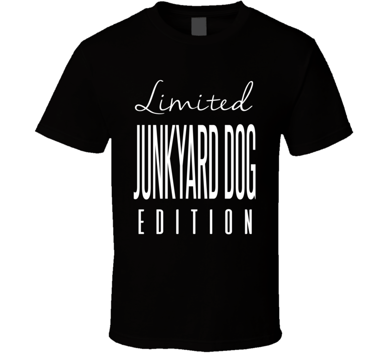 Junkyard Dog Limited Edition Retro Wrestling T Shirt
