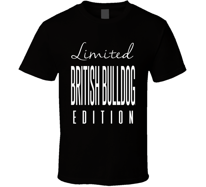 The British Bulldog Limited Edition Retro Wrestling T Shirt