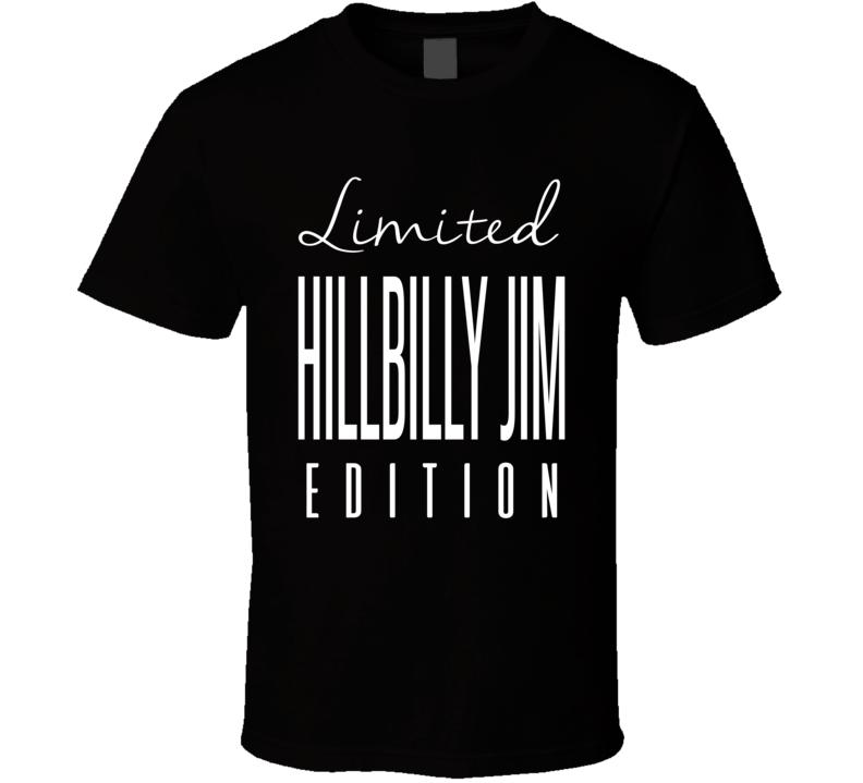 Hillbilly Jim Limited Edition Retro Wrestling T Shirt