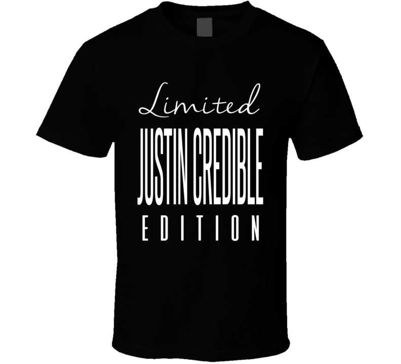 Justin Credible Limited Edition Retro Wrestling T Shirt