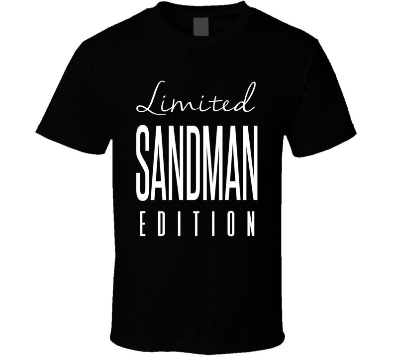 Sandman Limited Edition Retro Wrestling T Shirt