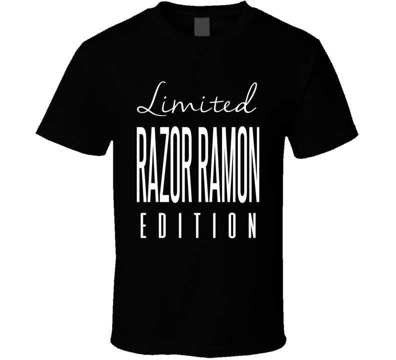 Razor Ramon Limited Edition Retro Wrestling T Shirt