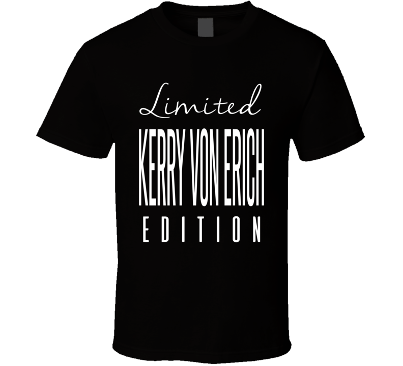 Kerry Von Erich Limited Edition Retro Wrestling T Shirt