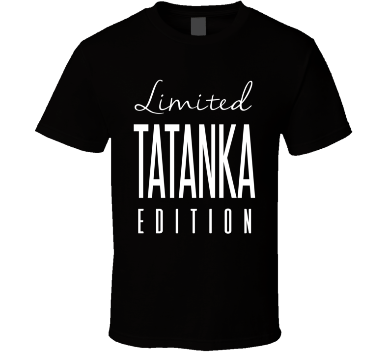 Tatanka Limited Edition Retro Wrestling T Shirt