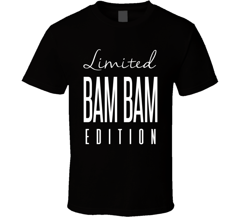 Bam Bam Bigelow Limited Edition Retro Wrestling T Shirt