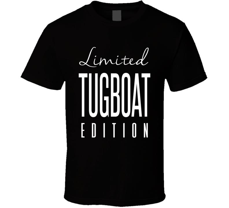 Tugboat Limited Edition Retro Wrestling T Shirt