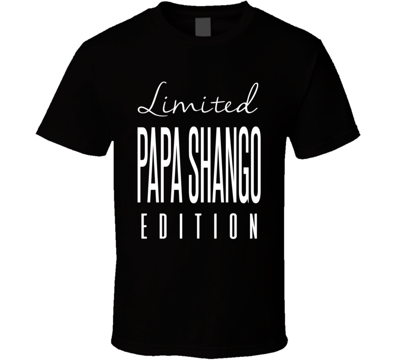 Papa Shango Limited Edition Retro Wrestling T Shirt