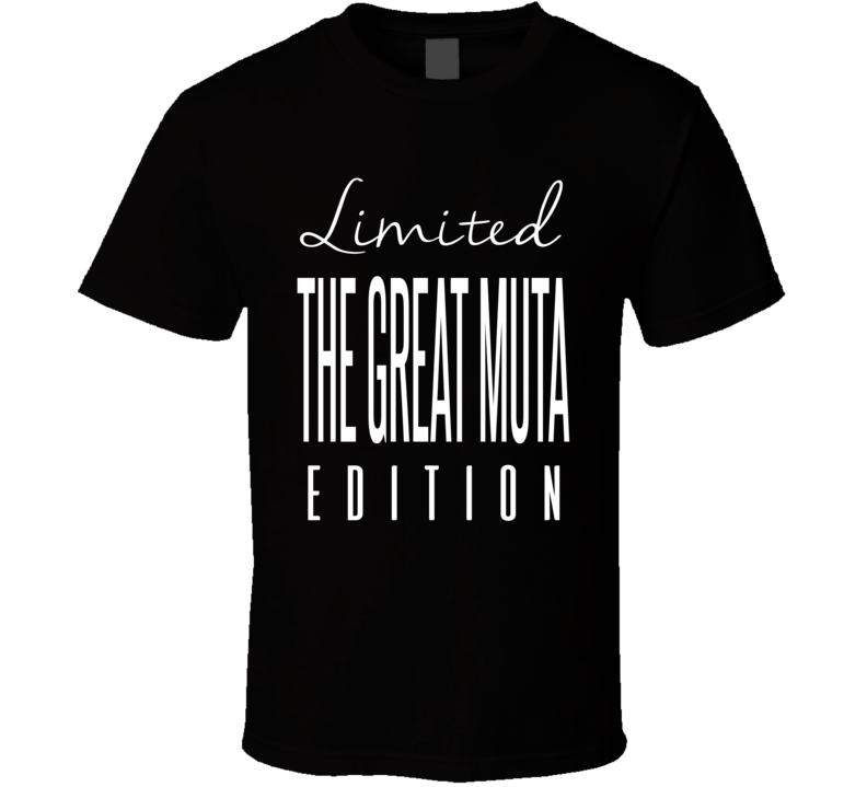 The Great Muta Limited Edition Retro Wrestling T Shirt