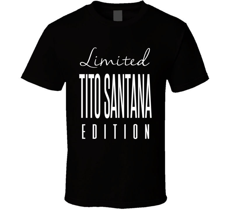 Tito Santana Limited Edition Retro Wrestling T Shirt
