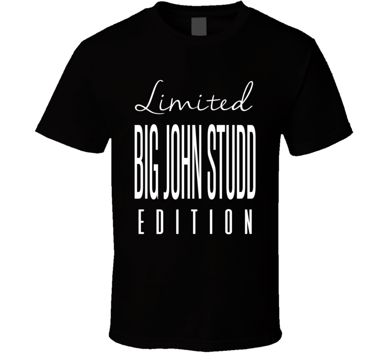Big John Studd Limited Edition Retro Wrestling T Shirt