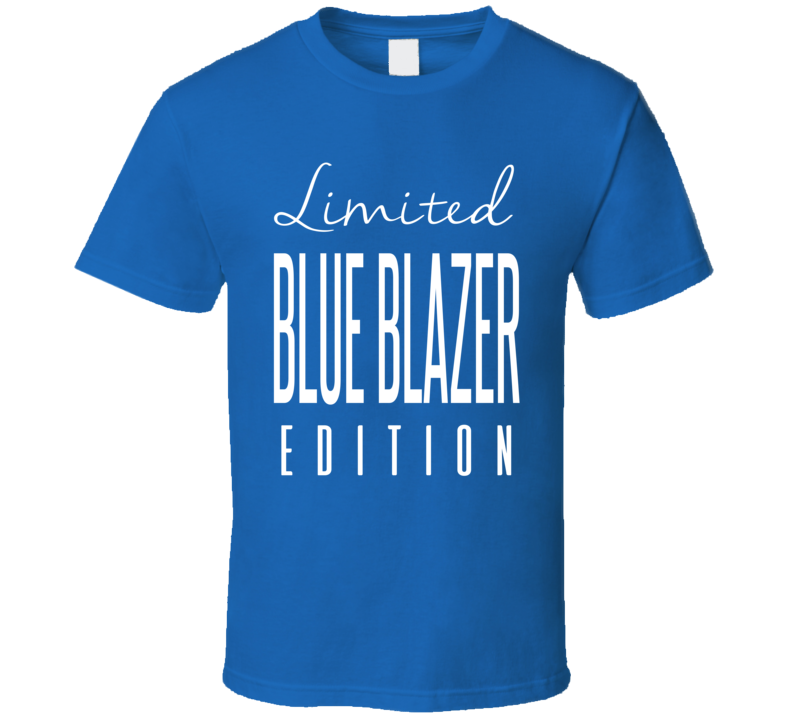 The Blue Blazer Limited Edition Retro Wrestling T Shirt