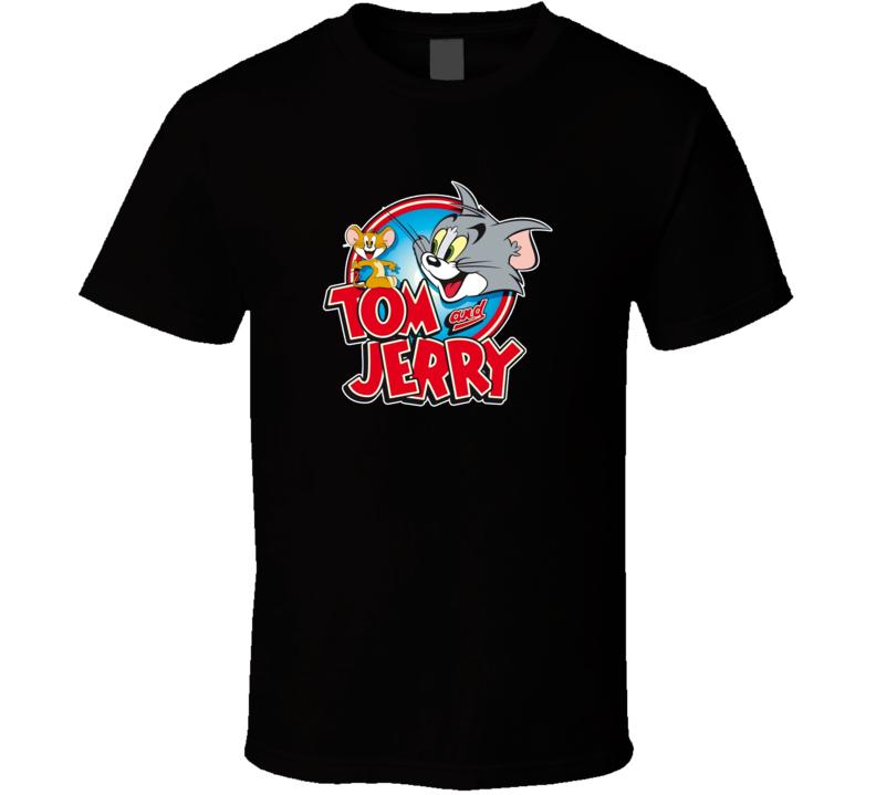 Tom And Jerry Classic Cartoon Retro T Shirt