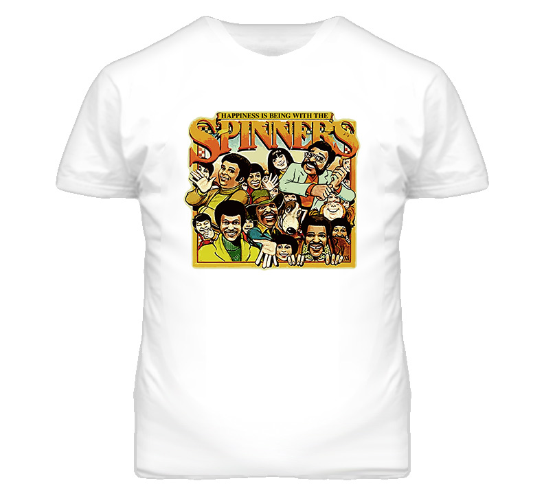 The Spinners Soul Rock Music Retro T Shirt