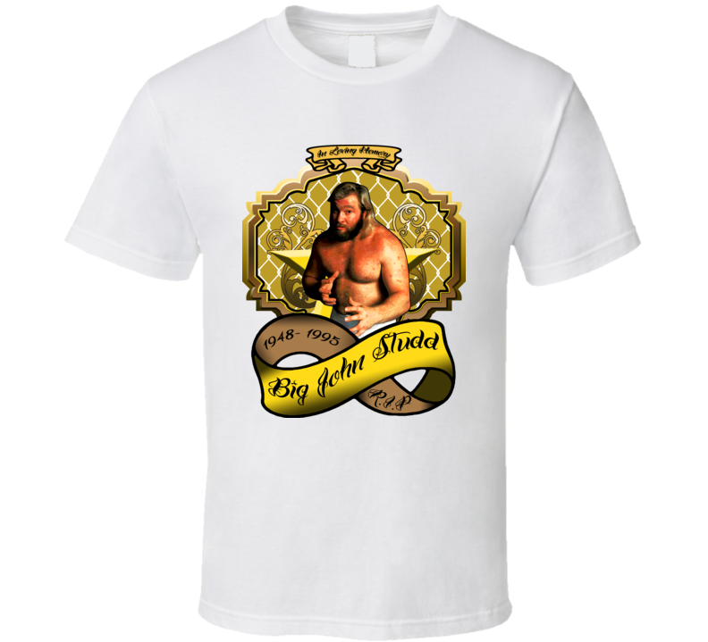 Big John Studd Wrestling Tribute T Shirt