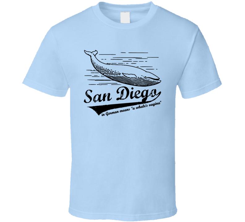 Anchorman San Diego Whale T Shirt