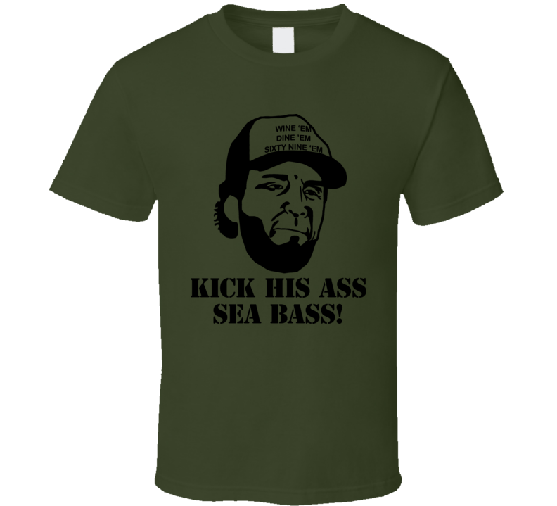 Dumb And Dumber Sea Bass T Shirt