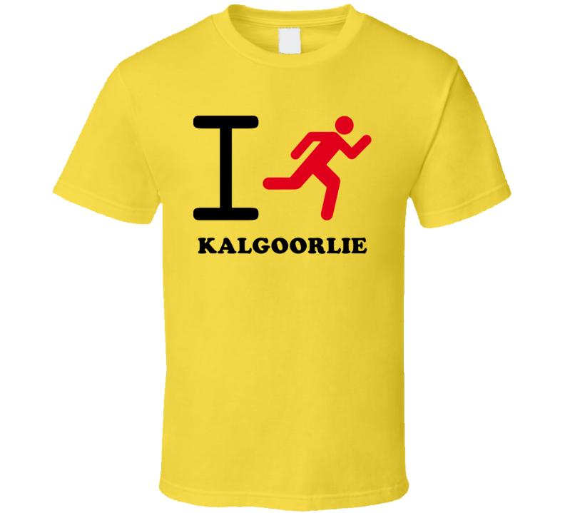 I Run Kalgoorlie Australia Cool City T Shirt