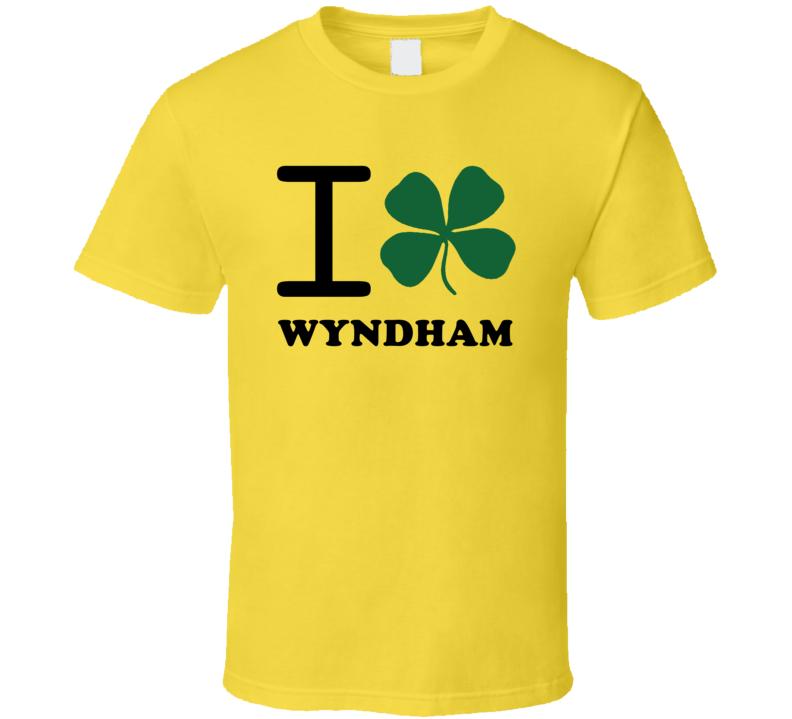 I Clover Wyndham Australia Heart Love Irish City T Shirt