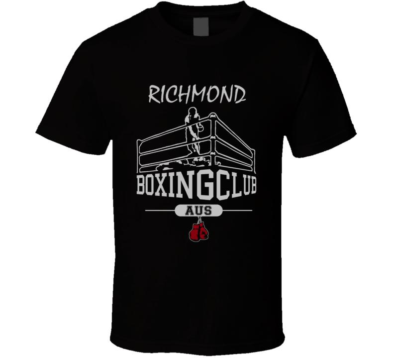 Richmond Australia Boxing Gym Fight Club Cool City T Shirt