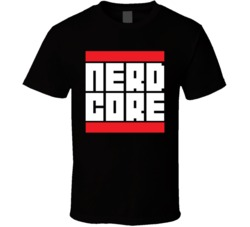 Nerd Core Run DMC T Shirt