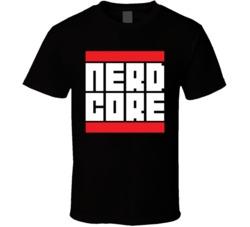 Nerd Core Run DMC T Shirt
