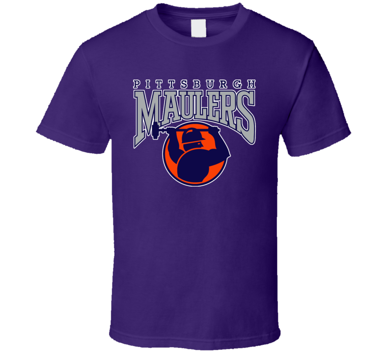 Pittsburgh Maulers Football Sports T Shirt