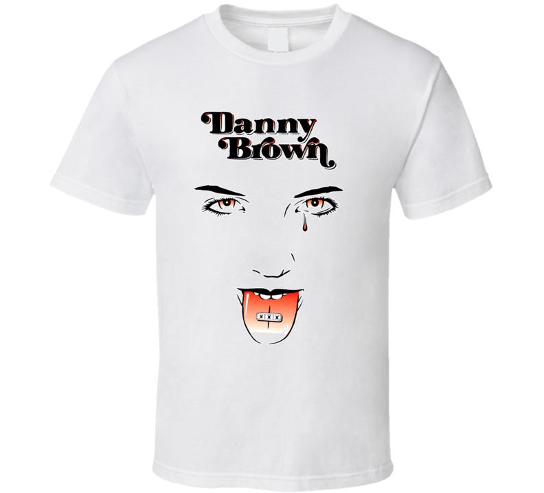 Danny Brown XXX Album Hip Hop Rap Music T Shirt