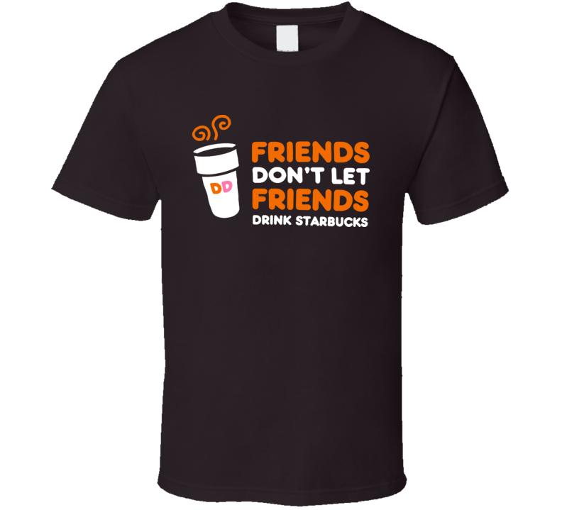 Dunkin Donuts Parody Funny T Shirt