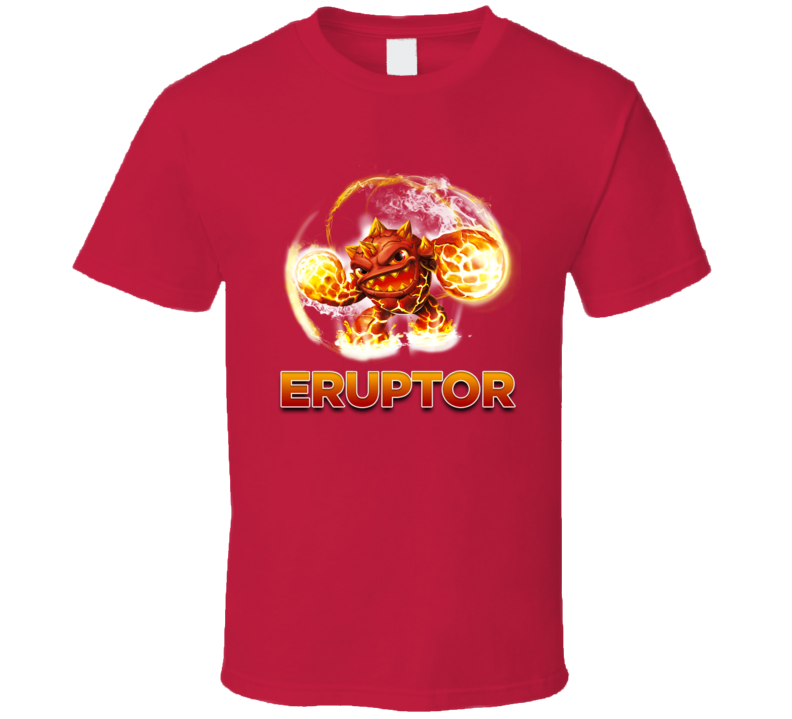 Skylanders Eruptor Classic Video Game T Shirt