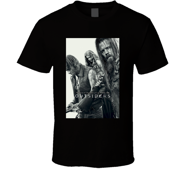 Outsiders Action Drama Cult TV Show T shirt