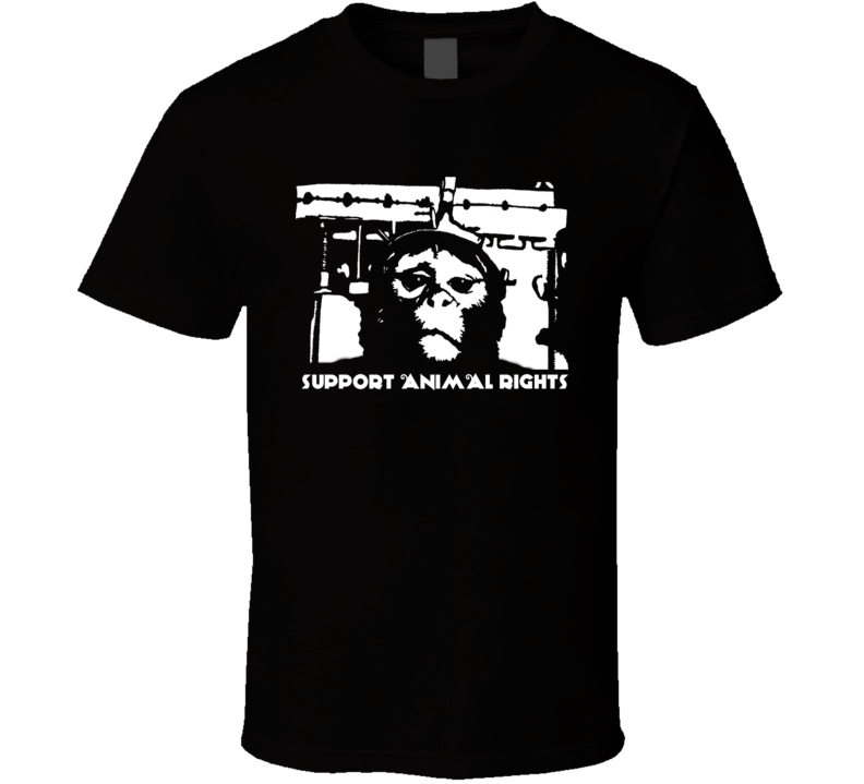 Primate Torture Support Animal Rights T Shirt
