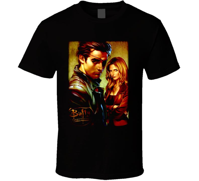 Xander And Buffy T Shirt